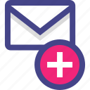 add, cc, compose, email, envelope, message icon