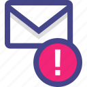 email, envelope, info, information, message, more icon