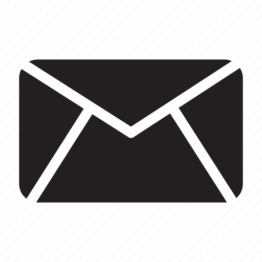 bold, email, envelope, mail, message icon