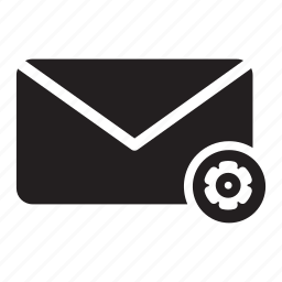 bolt, email, envelope, mail, preference, settings icon
