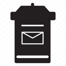 bin, email, envelope, mail, rubbish, trash icon