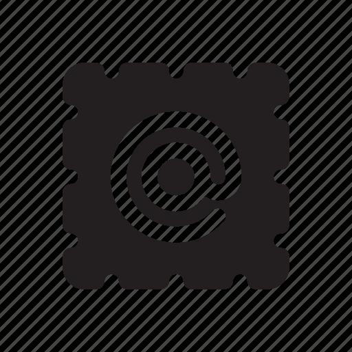 address, email, internet, sign, stamp, url, website icon