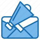 announcement, business, communication, connection, digital, letter, mail icon
