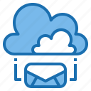 business, cloud, communication, connection, digital, mail, office icon