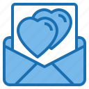 business, communication, connection, digital, love, mail, office icon