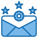 business, communication, connection, digital, mail, office, rate icon