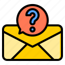 connection, letter, marketing, office, spam, web, work icon
