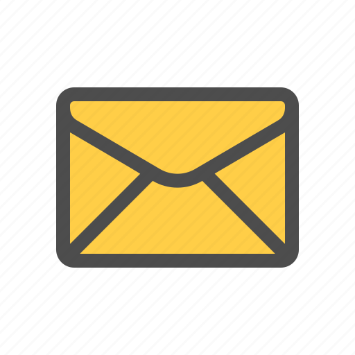 email, envelope, letter, mail, unread icon