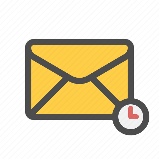mail, pending, scheduled icon