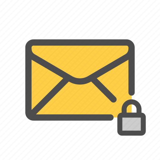 encrypted, mail, private, secured icon