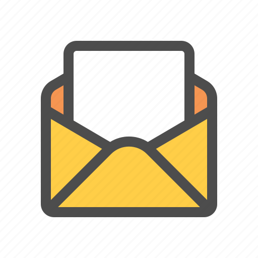 blank, email, letter, mail icon