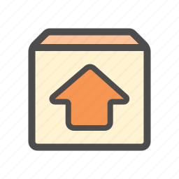 mail, restore, unarchieve, upload icon