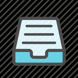 full, inbox, mail, mailbox icon