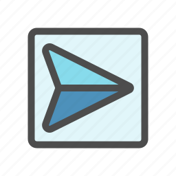 delivered, mail, outbox, sent icon