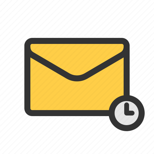 mail, pending, scheduled, waiting icon