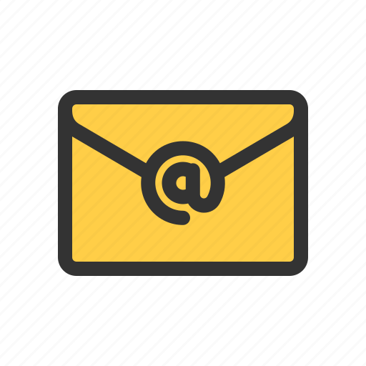 at, email, newsletter, subscription icon