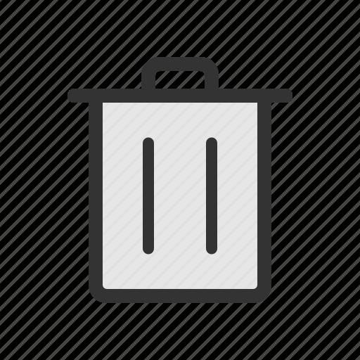 delete, remove, trash icon