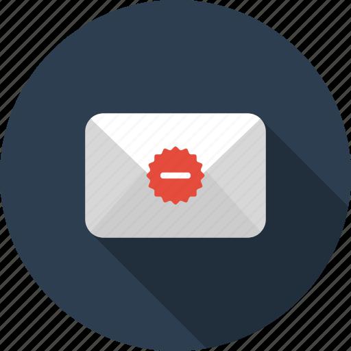 bin, delete, envelope, letter, mail, trash icon
