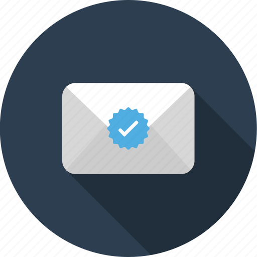 delievered, envelope, letter, mail, sended icon