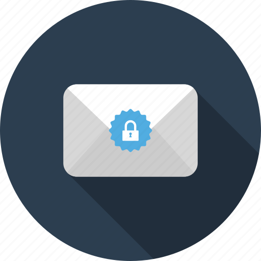 credentials, encrypted, envelope, letter, mail, secure icon