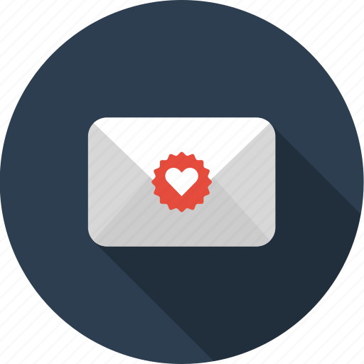 email, envelope, favorite, letter, liked, mail icon