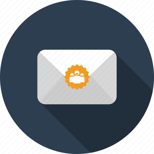 email, envelope, group, letter, mail, meeting, social icon
