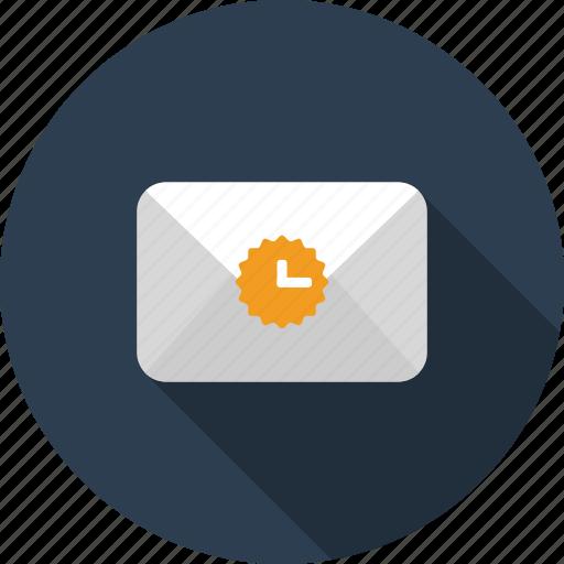 email, envelope, letter, mail, pending, sending icon