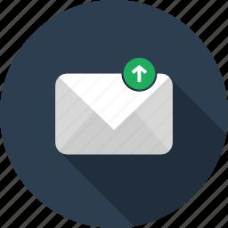 backup, email, envelope, letter, mail icon