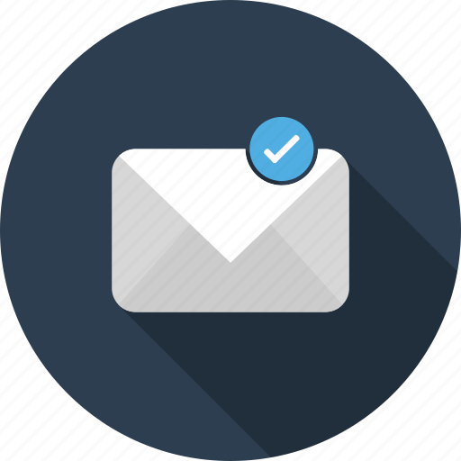 delievered, email, envelope, letter, mail icon