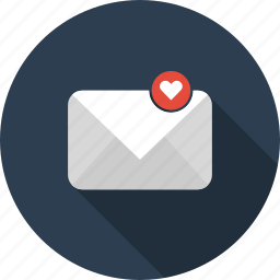 email, envelope, favorite, letter, mail icon