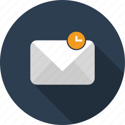 email, envelope, letter, mail, pending icon