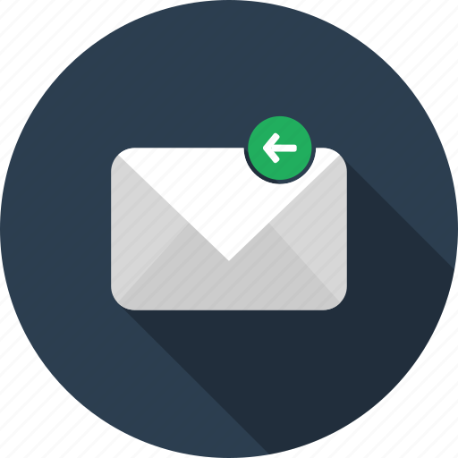 email, envelope, letter, mail, reply icon