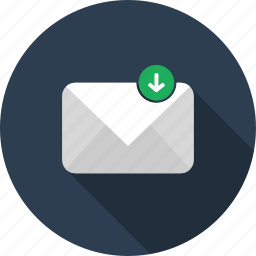 email, envelope, letter, mail, restore icon