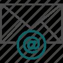 arobase, email, envelope, letter, message