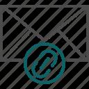 email link, link, message link, website icon