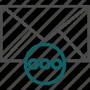 details, dots, menu, more, more details icon