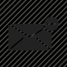delete, email, envelope, internet, letter, mail, message, network, send, sending icon