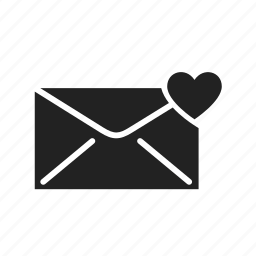 email, envelope, fast, heart, internet, letter, mail, message, network, news, send, sending, subscribe icon