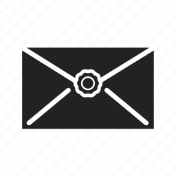 email, envelope, letter, mail, message, news, print, secret, send icon