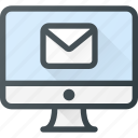 app, computer, desctop, email, mail icon