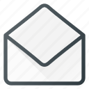 email, envelope, mail, message, newsletter, open icon