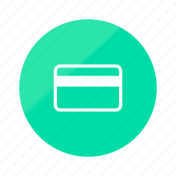 card, credit, creditcard, emerald, gradient, half, payment icon