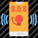 call, emergency, roadside, sos, telephone icon