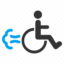 disabled man, fire exit, invalid person, motion, movement, patient, safety way icon
