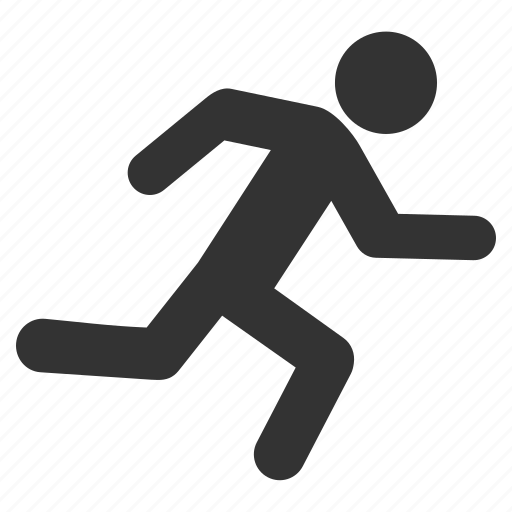 delivery, fast courier, fire exit, fitness, run, runner, running man icon