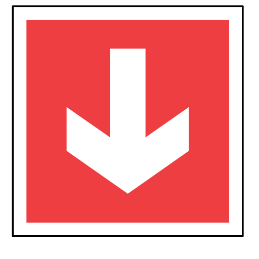 arrow, code, emergency, red, sign, sos icon