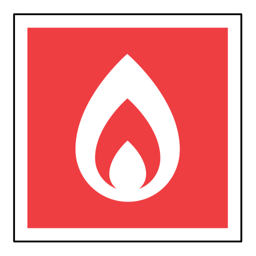 code, emergency, fire, flame, sign, sos icon
