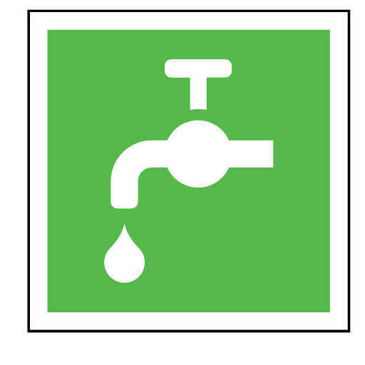 code, emergency, sign, sink, sos, water icon