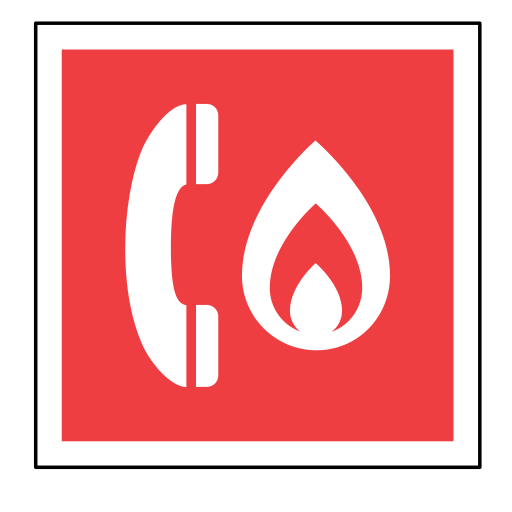 code, emergency, fire, phone, sign, sos, telephone icon