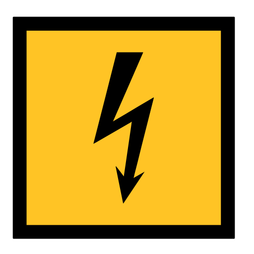 code, danger, electrocution, emergency, ray, sign, sos icon